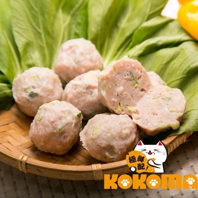 【極鮮配】芹菜貢丸(200g±10%/包-10包入)