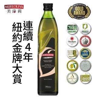 【西班牙Mueloliva美洛莉】碧卡答Picuda特級冷壓初榨橄欖油(750mlX1瓶)