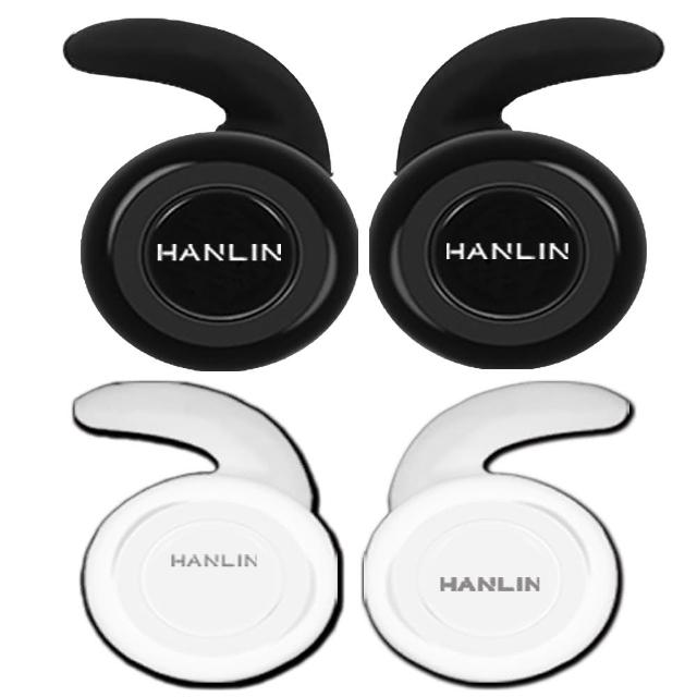 【HANLIN】6X6無線雙耳 真迷你藍芽耳機(黑色/白色)