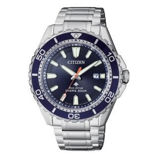 【CITIZEN 星辰】PROMASTER 深海潛水 流線腕錶 200米 BN0191-8