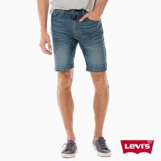 【Levis】牛仔短褲 男裝 / 505 中腰標準直筒