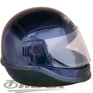 【EVO】全罩式安全帽-黑色+(6入不織布內襯套)