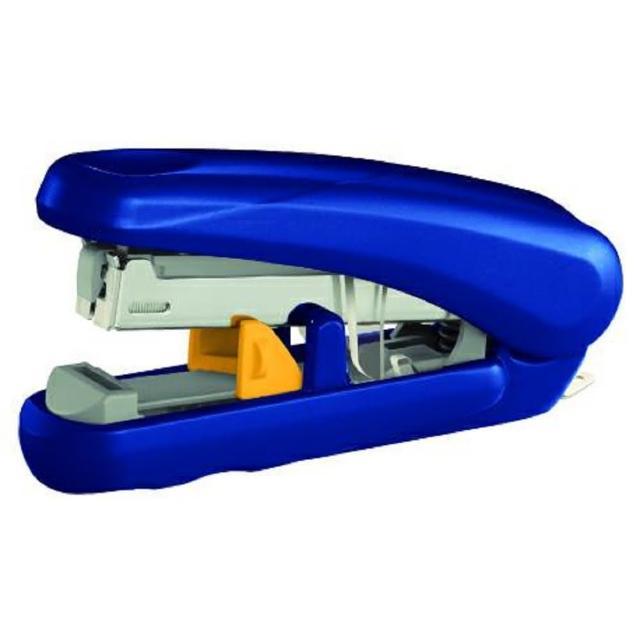 【普樂士】PLUS ST010XH艷彩雙排平計訂書機 藍