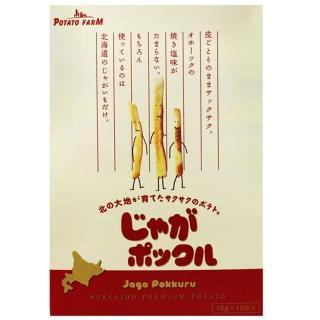 【卡樂比 calbee】北海道進口薯條三兄弟(10包/盒)