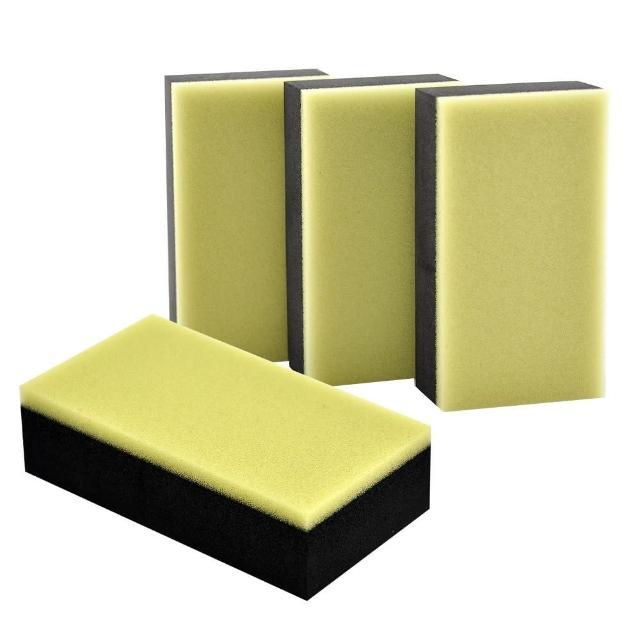 【AutoCare】鍍膜劑專用海綿(4塊/組)