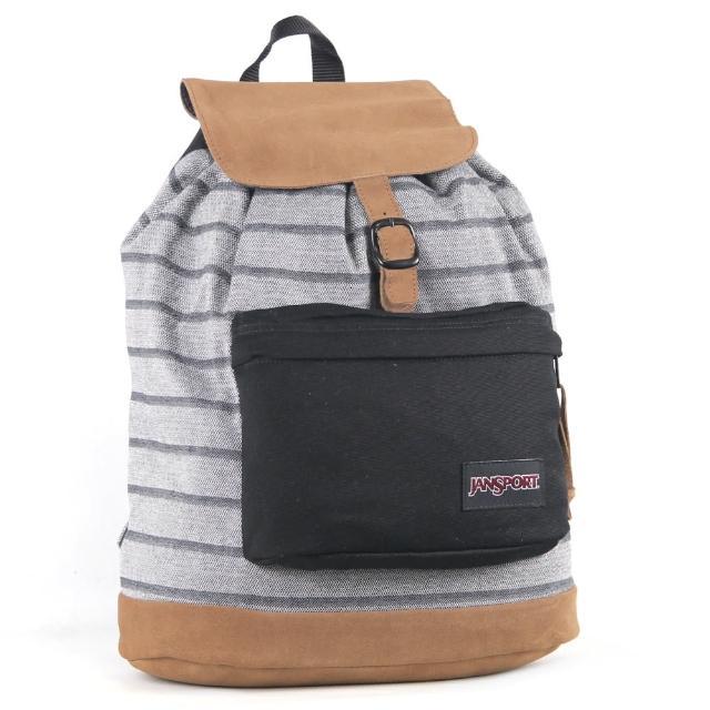 【JanSport】校園背包-HAIDEN(單寧編織)