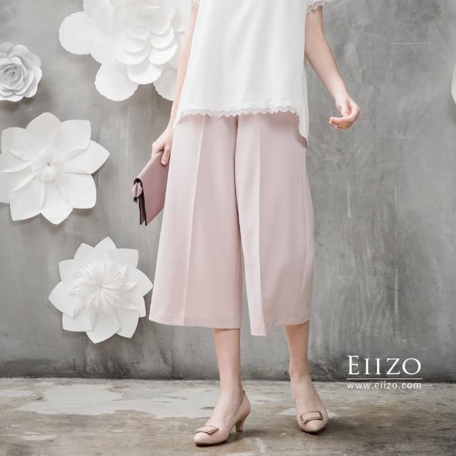 【EIIZO】舒適休閒百搭七分寬褲(共三色)