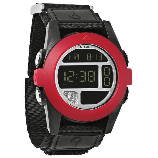 【NIXON】The BAJA 核心啟程多功能概念運動錶-紅黑(NXA489760)