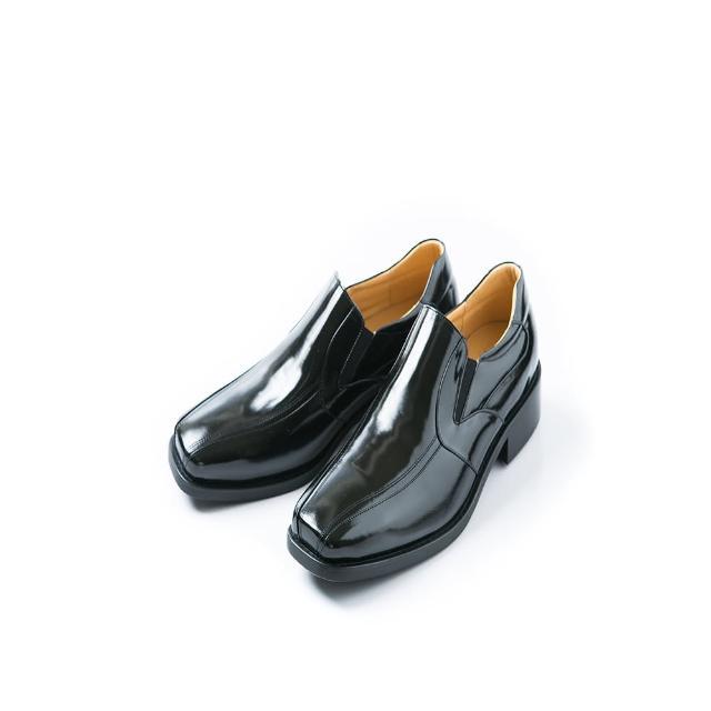 【ALAIN DELON】時尚名流百搭紳士皮鞋A16005(1色 黑色)