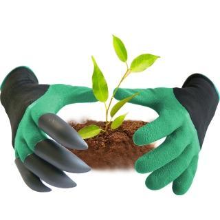 防水防刺園藝挖土手套