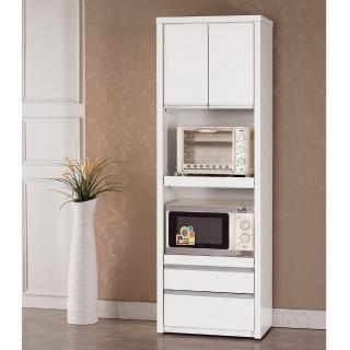 【顛覆設計】琳洛卡2尺高推門收納櫃/電器櫃