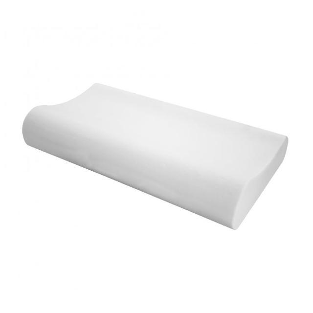 【HOLA】HOLA home 釋壓抗菌記憶枕曲線型H10.5CM