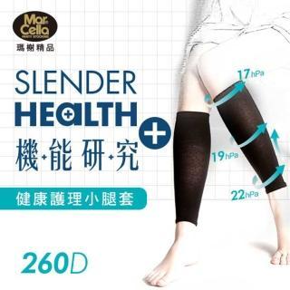 ~瑪榭~機能研究 260D著壓健康機能小腿襪套^(3入組^)