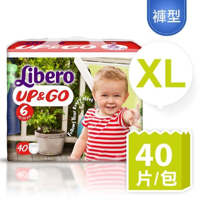 麗貝樂敢動褲6號XL(40片/包)