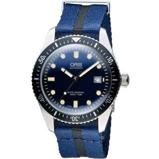 【Oris豪利時】Divers系列 Sixty-Five潛水機械腕錶(0173377204055-0752128FC)