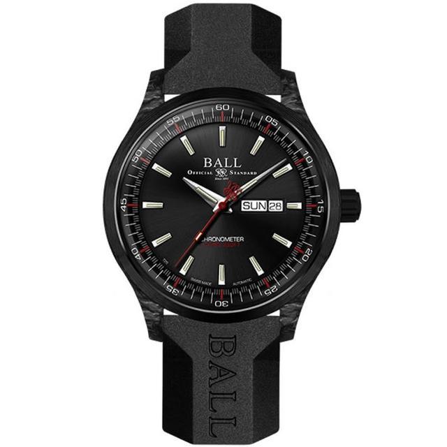 【BALL波爾】ENGINEER II系列 VOLCANO自動機械腕錶(NM3060C-PCJ-GY)