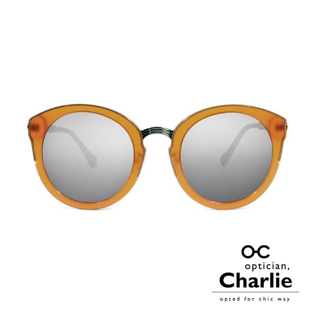 【Optician Charlie】韓國亞洲專利 BI系列太陽眼鏡(棕 + 水銀鏡面 BI AM)