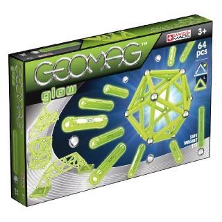 【GEOMAG 瑞士智美高磁力玩具】益智機械磁力棒系列#336-64pcs(磁鐵棒玩具)