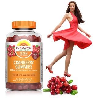【美國Sundown日落恩賜】50倍濃縮蔓越莓軟糖(75粒/瓶)