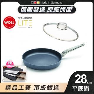 【德國 WOLL】Diamond Lite Pro 鑽石不沾系列28cm 平底鍋(含蓋)