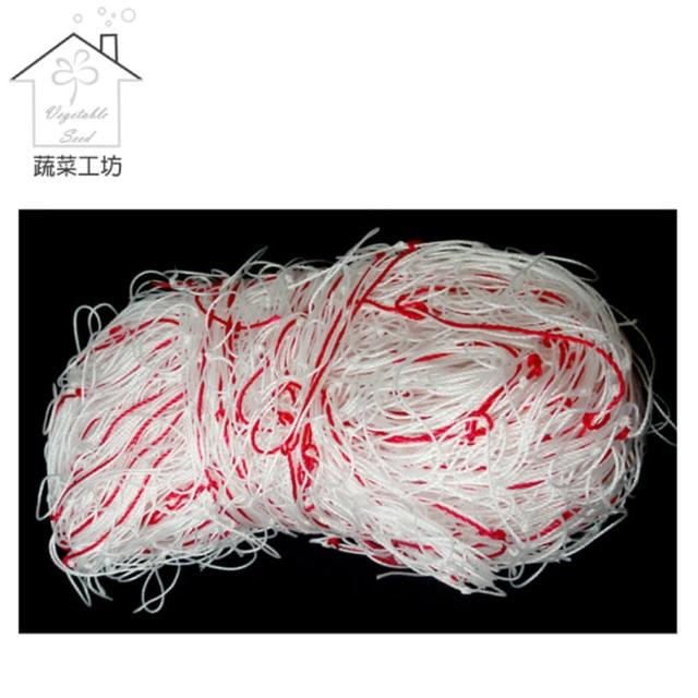 【蔬菜工坊010-A06】絲瓜網(四方網目線徑: 2mm 孔徑: 30cm)