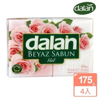 【土耳其dalan】純玫瑰嫩白浴皂(175x4入超值組)