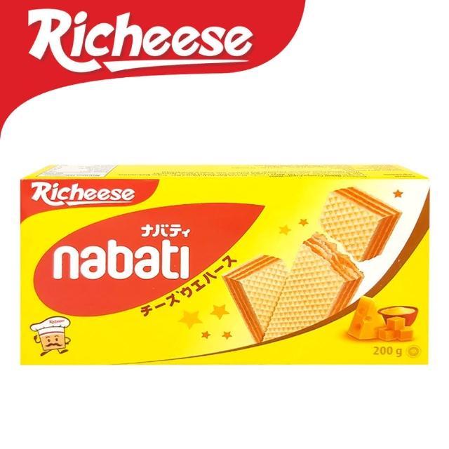 【麗芝士Nabati】起司威化餅(200g)
