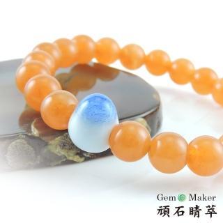 【GemMaker 頑石睛萃】黃東菱手工釉燒陶瓷手珠(17.5g)