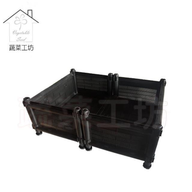 【蔬菜工坊005-A02】單層雙通DIY種植箱/栽培箱(型號SD)