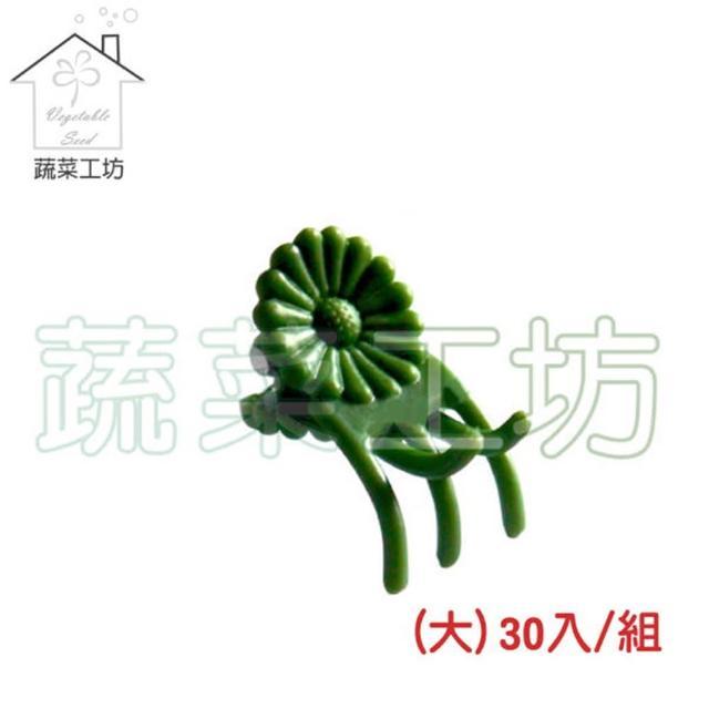 【蔬菜工坊009-C53】嫁接夾-大-30入/組 綠色