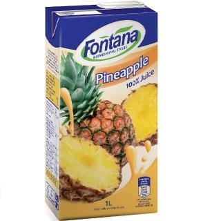【FONTANA】100%天然鳳梨汁 1公升