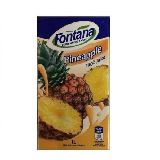 【FONTANA】鳳梨汁 1公升