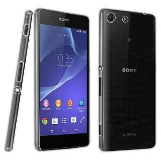 【Sony】Xperia M5 晶亮透明 TPU 高質感軟式手機殼/保護套 光學紋理設計防指紋
