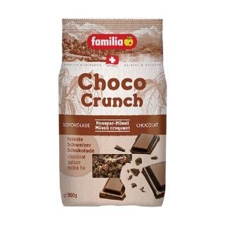 【Familia】瑞士全家巧克力綜合穀物早餐 500g(來自瑞士的天然穀物)