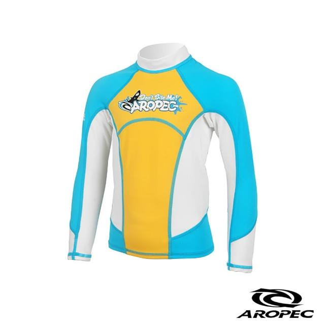 【AROPEC】Skipjack 飛魚兒童長袖防曬衣(土耳其藍)