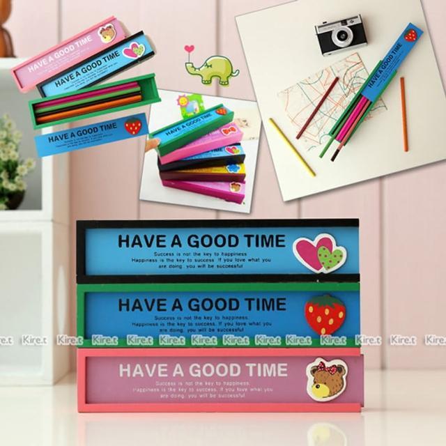 【kiret】韓版木質鉛筆盒-抽屜式創意多功能抽拉收納(文具盒 鉛筆盒 收納袋 珠寶盒)