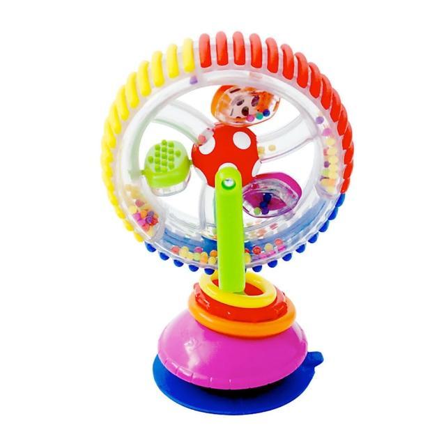 【美國 Sassy】彩虹旋轉摩天輪(寶寶成長玩具)