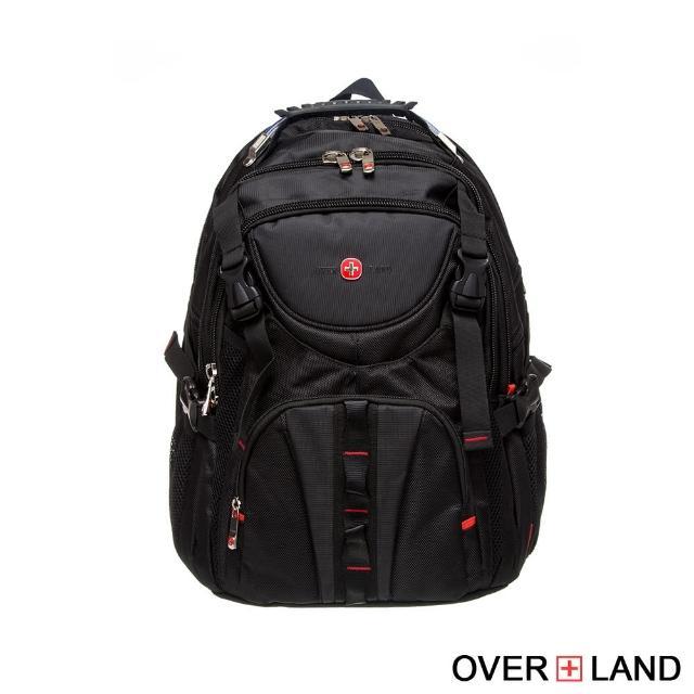 【OVERLAND】美式十字軍-率性雙拉鍊後背包(2572)