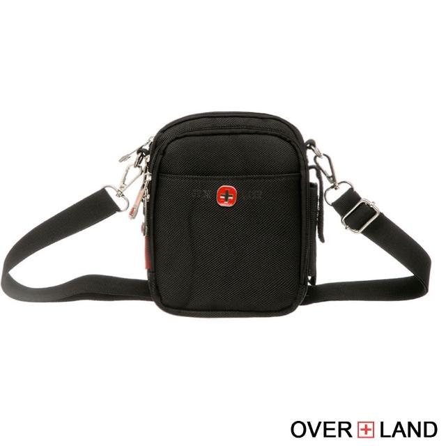 【OVERLAND】美式十字軍-潮酷格紋斜背包(2600)