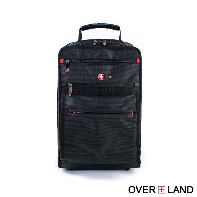 【OverLand】美式十字軍-簡約設計多夾層後背包(3063)