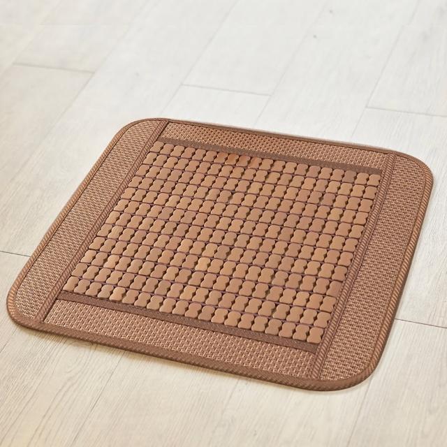 【BV】棉繩3D透氣炭化麻將坐墊/涼墊(單人座)