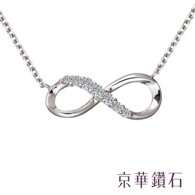 【京華鑽石】infinity系列 0.10克拉 10K鑽石項鍊