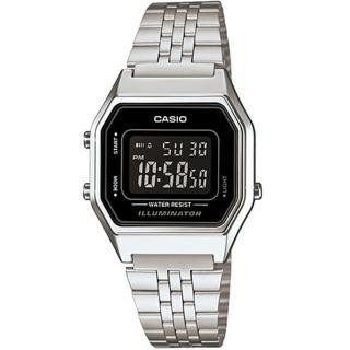 【CASIO】復刻時尚數位電子錶-黑面(LA-680WA-1B)