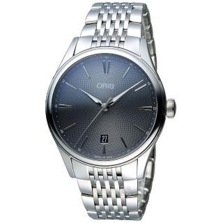 【Oris豪利時】Artelier系列時尚機械腕錶(0173377214053-0782179)