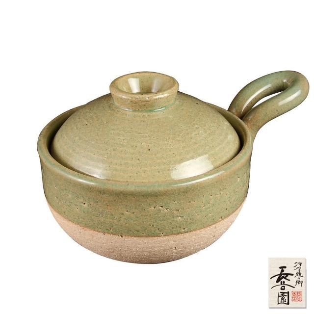 【日本長谷園伊賀】輕巧手柄個人小砂鍋