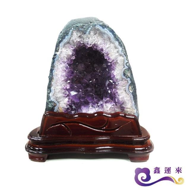 【鑫運來】天然巴西紫晶洞(9kg)