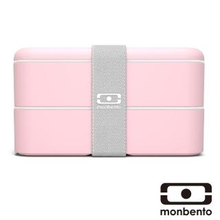 【MONBENTO】雙層餐盒-荔枝色(MB-120012106)