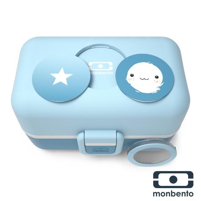【MONBENTO】兒童百寶便當盒-星辰藍(MB-300001119)