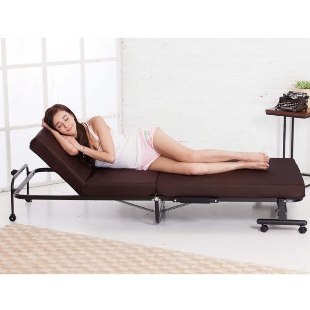 【Simple Life】Simple Life 14段高反發支撐收納折疊床OTB KR(折疊床)