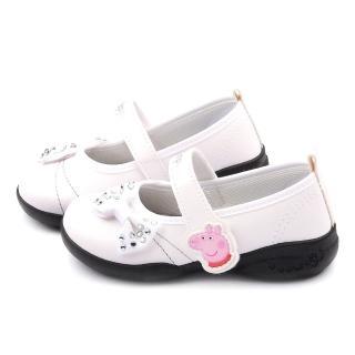 【童鞋城堡】粉紅豬小妹 佩佩豬 中童 水鑽甜美公主鞋(PG8517-白)